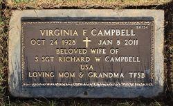 Virginia F Campbell