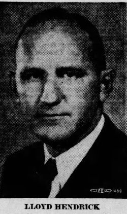Lloyd Leroy Hendrick