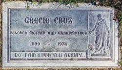 Gracia <I>Barrientos</I> Cruz