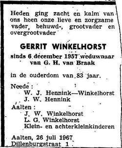 Gerrit Winkelhorst