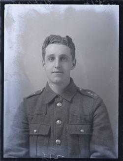 Second Lieutenant Asa Frederick Sheppard
