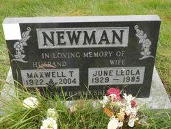 June <I>Galpin</I> Newman