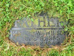 """Wilson Matthew """"William"""" Ingraham"""