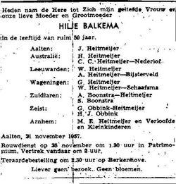 Hilje Balkema