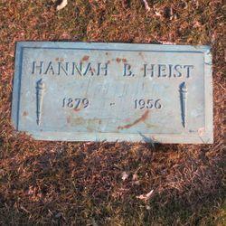 Hannah May <I>Beidleman</I> Heist
