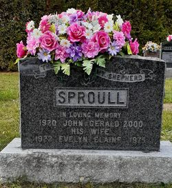 Evelyn Elaine <I>Morgan</I> Sproull