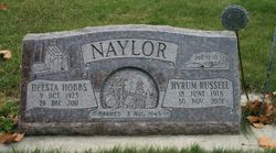Hyrum Russell Naylor