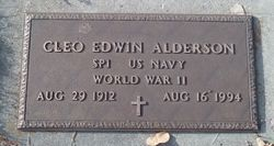 Cleo Edwin Alderson