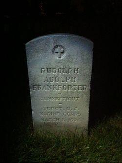 SGT Rudolph Adolph Frankforter