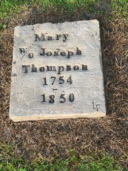 """Mary """"Molly"""" <I>Jolly</I> Thompson"""