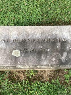 Rev Paul Zeller Strodach