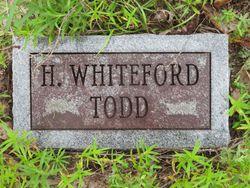 Henry Whiteford Todd