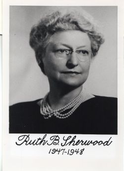 Ruth <I>Bailey</I> Sherwood