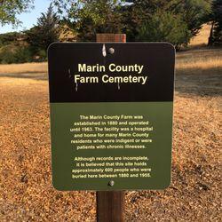 Marin County Farm Cemetery