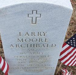 SSGT Larry Moore Archibald