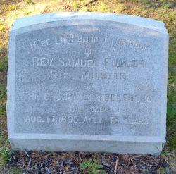 Rev Samuel Fuller Jr.