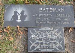 "Alfred Earl ""Dewey"" Bateman"