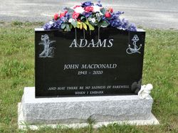 John MacDonald Adams