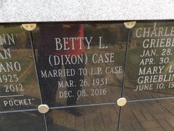Betty L Case