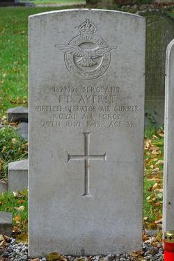 Sergeant Francis Donovan Ayerst