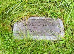 Agnes Bevan <I>Slosson</I> Lewis