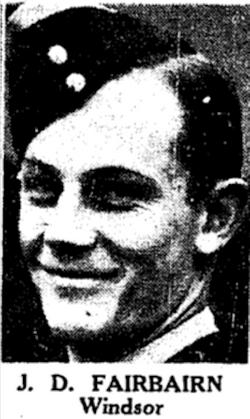 Pilot Officer James Duncan Fairbairn