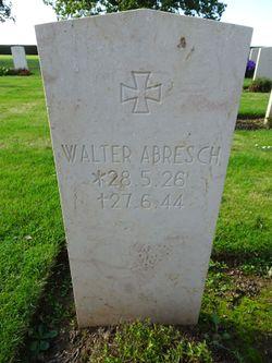 Grenadier Walter Abresch