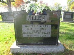 Margaret Dorothy <I>Grant</I> Allen