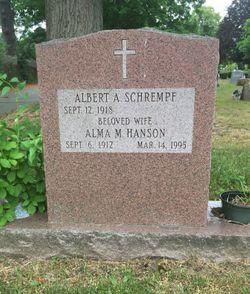 Alma Marguerite <I>Hanson</I> Schrempf