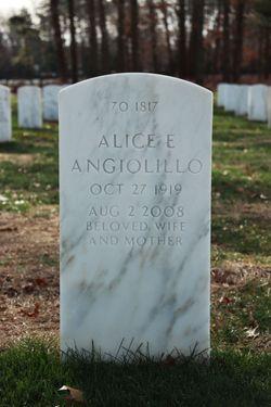 Alice E Angiolillo