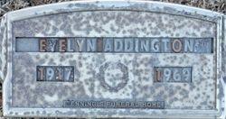 Evelyn <I>Floyd</I> Addington