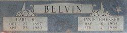 Carl Killingsworth Belvin