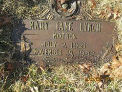 Mary Jane <I>Eimer</I> Lynch