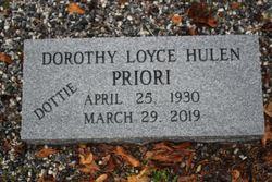 "Dorothy Loyce ""Dottie"" <I>Sirmons</I> Priori"