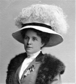 Annie Gertrude <I>Thomson</I> Holladay