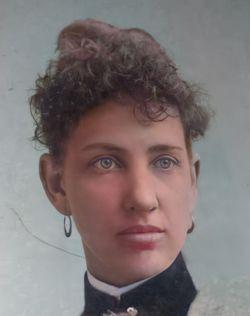 Sarah Ellen <I>Stokely</I> Burnett