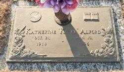"Katherine Pearl ""Kitty"" Alford"