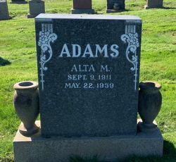 Alta Juanita <I>Gates</I> Adams