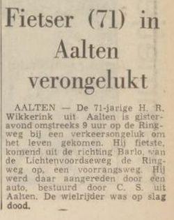Hendrik Rudolph Wikkerink