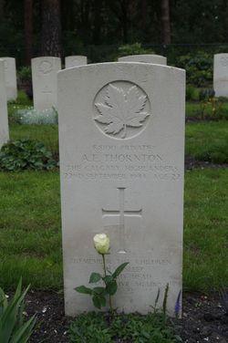 Private Arnold Ernest Thornton