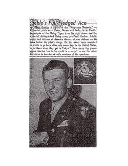 Maj Mathew Martin Gordon Jr.