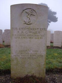 Sub-Lt Frank Arthur George Wallis