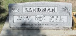 Eda Marie <I>Snoke</I> Sandman