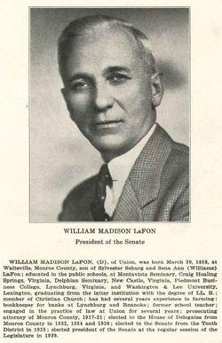 William Madison LaFon
