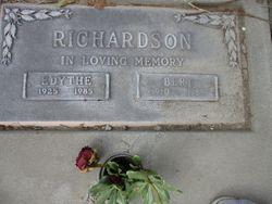 Edythe Lorane <I>Randall</I> Richardson