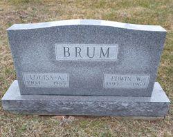 Louisa A. <I>Hartshorn</I> Brum