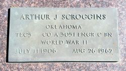Arthur J Scroggins