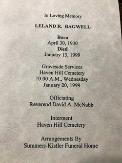 Leland Ray Bagwell