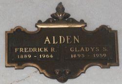 Gladys Marie <I>Severin</I> Alden