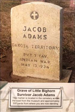Pvt Jacob Adams